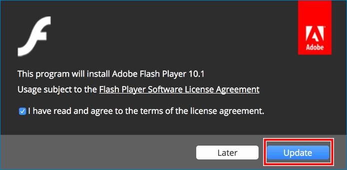 Обновить Flash-Player