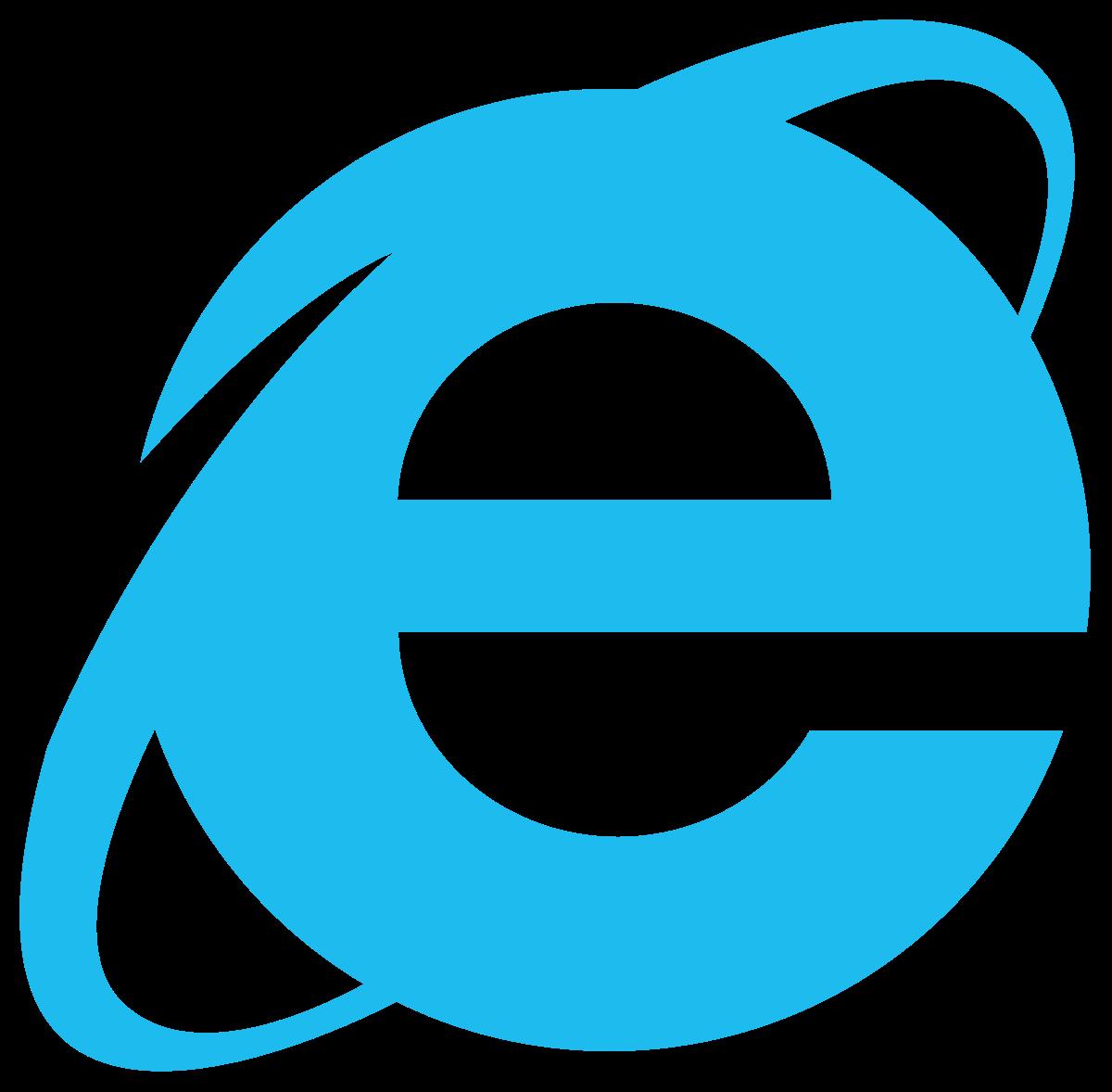 Internet Explorer логотип Браузеры