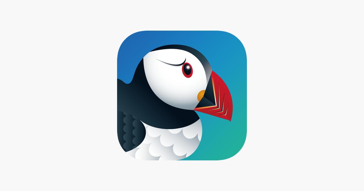 Логотип браузера Puffin Browser