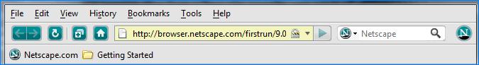 Панель задач Netscape Navigator