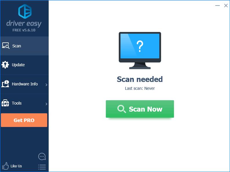 Сканирование на драйвера Internet Explorer