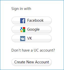 Создание аккаунта US Browser