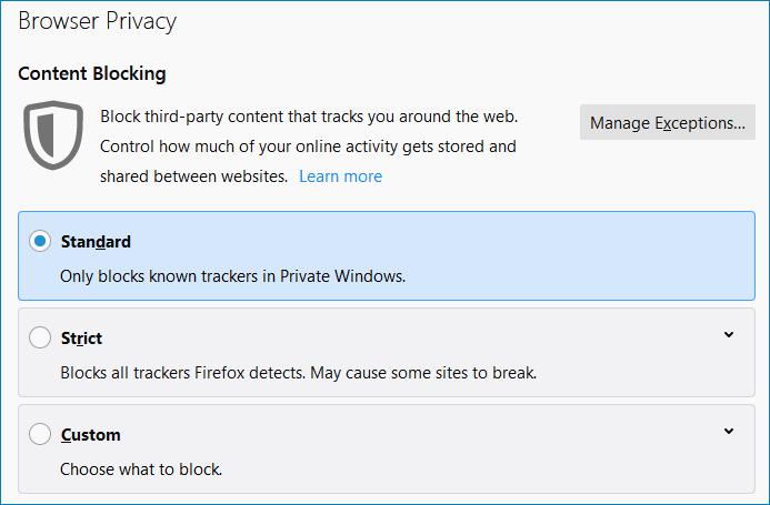 Безопасность Firefox