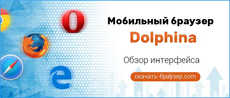 Dolphin — обзор мобильного Браузера