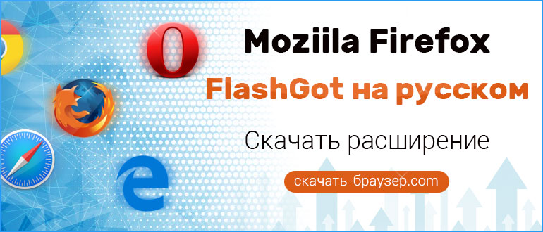 Flashgot для Firefox