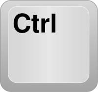 Клавиша Ctrl