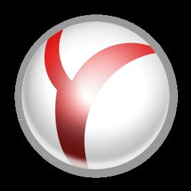 Логотип Яндекс Браузер в списке лучших браузеров