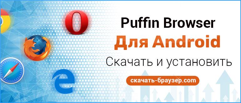 Puffin Browser Pro для Android — скачать мобильный браузер