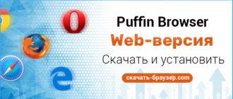 Puffin Web Browser для комьютера скачать бесплатно