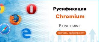 Русификация Chromium в Linux Mint
