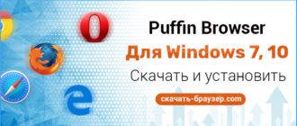 Скачаь Puffin (Пуффин) для Windows 7 10 бесплатно